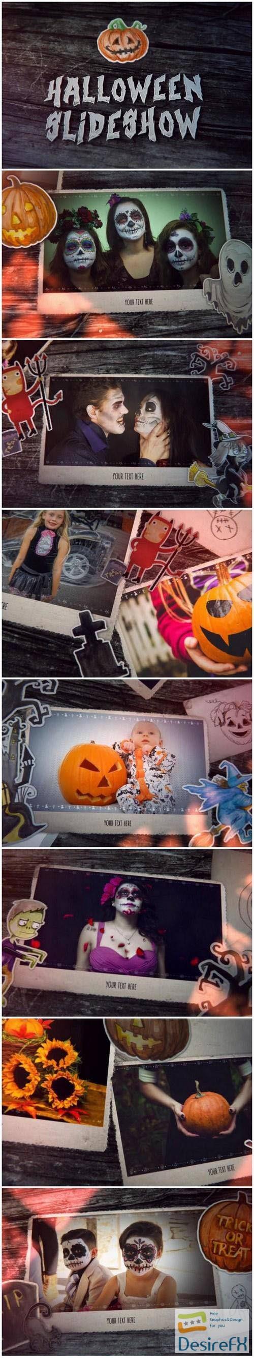 Videohive Halloween Slideshow