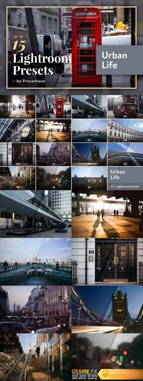 15 Lightroom Presets – Urban Life 1243287