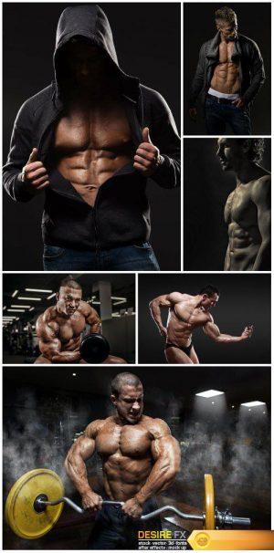 Courageous men athletic
