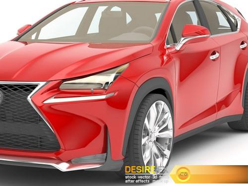 Lexus NX 200 Turbo 3D Model