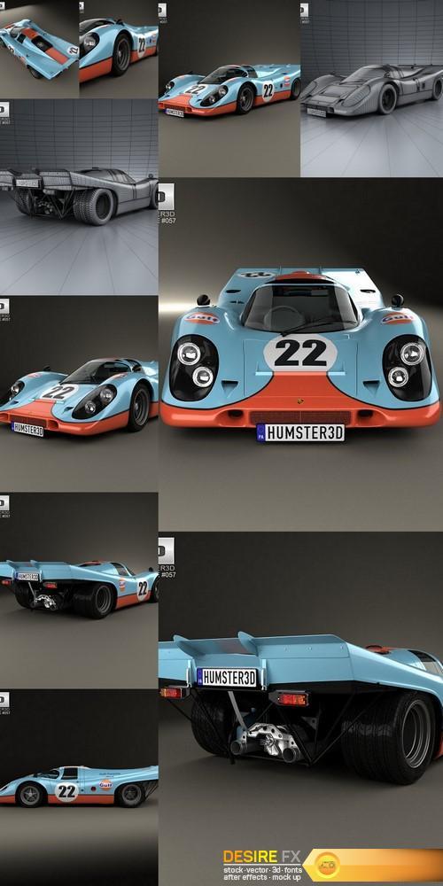 3d-models - Porsche 917 K 1969 3D Model