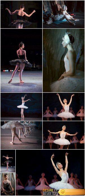 Ballerina on stage 11X JPEG