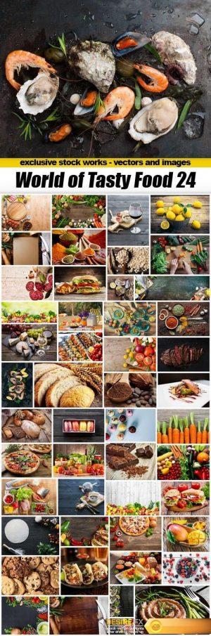 World of Tasty Food 24 – 50UHQ JPEG