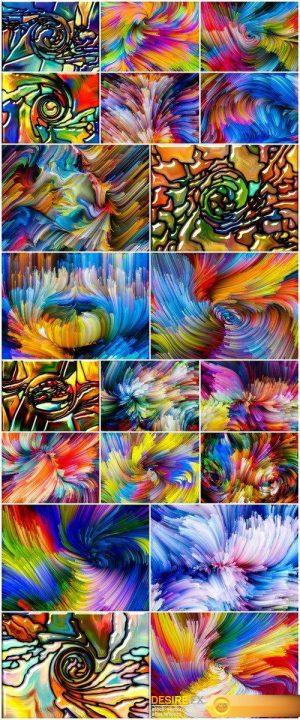 Conceptual Color Vortex 20X JPEG