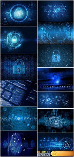 Global network security 13X JPEG