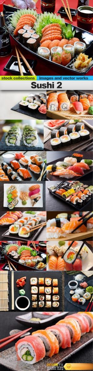 Sushi 2, 15 x UHQ JPEG