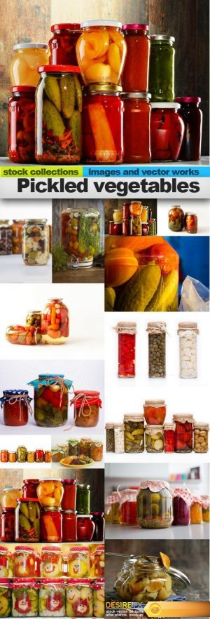 Pickled vegetables, 15 x UHQ JPEG