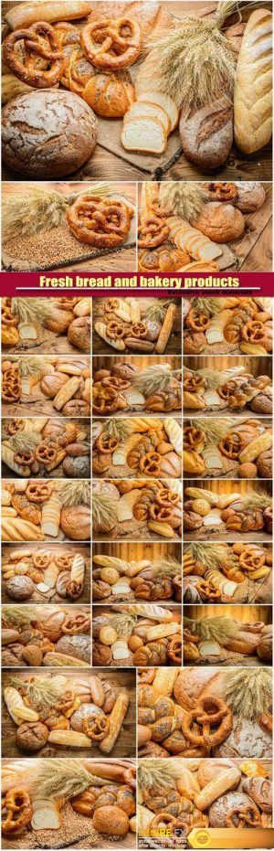 Fresh bread and bakery products
