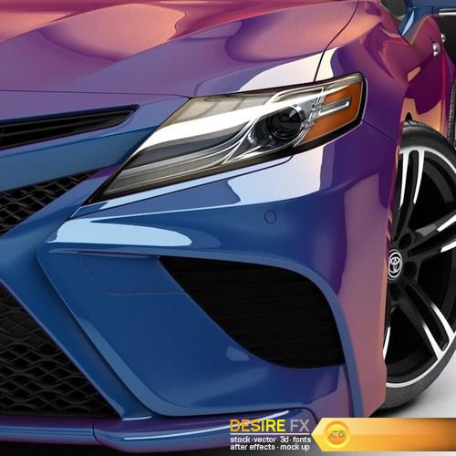 Toyota Camry 2018 3D Model