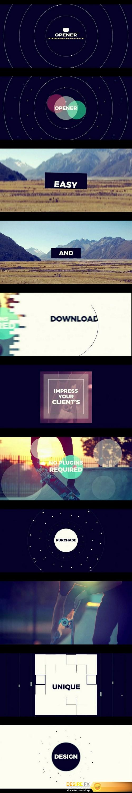 after-effects-projects - Videohive 19600023 Cinematic Typography Intro