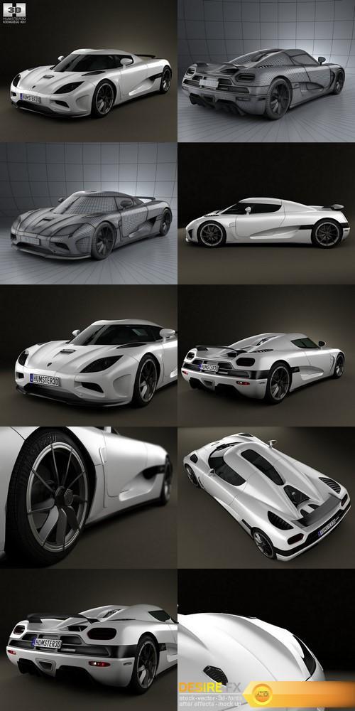 3d-models - Koenigsegg Agera 2011 3D Model