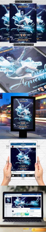 Flyer Template – Aquarius Night