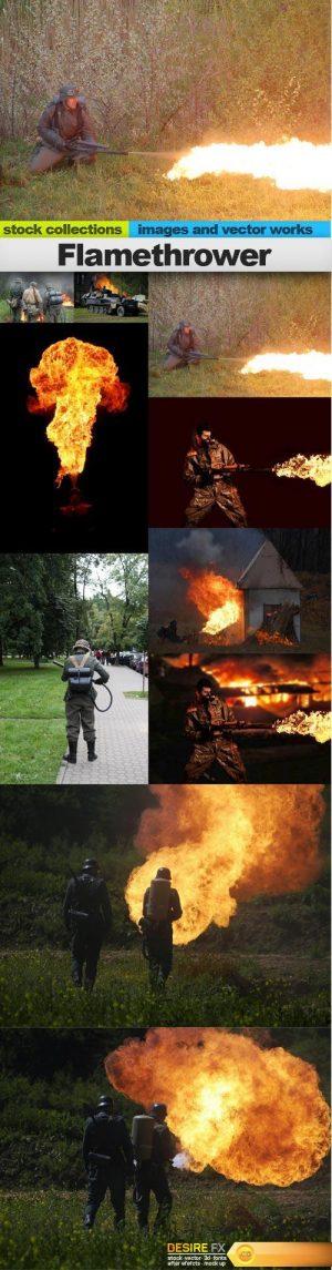 Flamethrower, 15 x UHQ JPEG