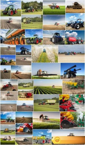 Agrarian Equipment – Set of 42xUHQ JPEG Professional Stock Images