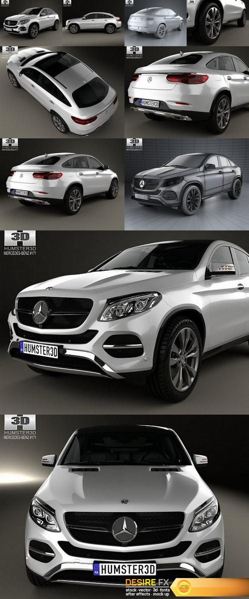 3d-models - Mercedes-Benz GLE-Class coupe 2014 3D model