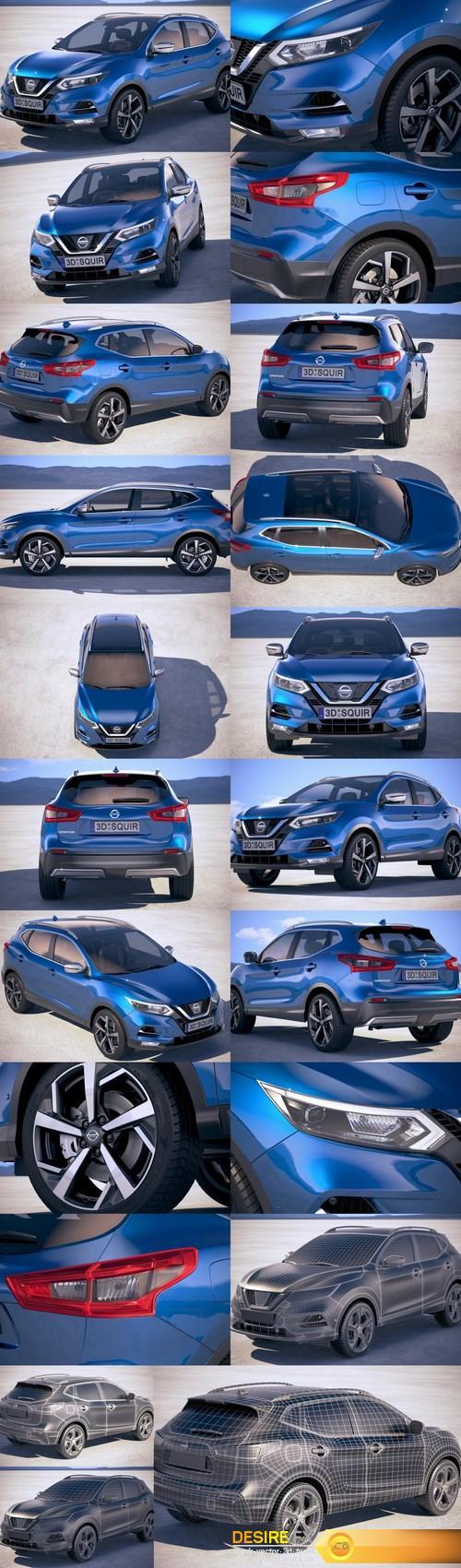 Nissan Qashqai 2018 – 3D Model