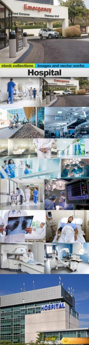 Hospital, 15 x UHQ JPEG