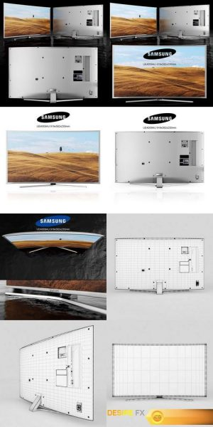 TV Samsung UE40S9AU 3D Model