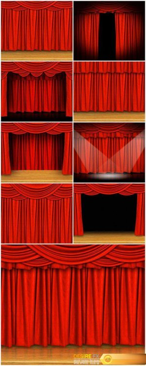 Curtains and stage 9X JPEG