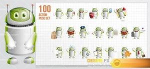characters - Droid Cartoon Character