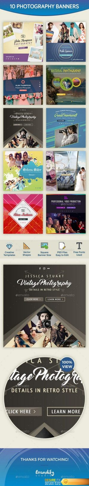 GraphicRiver Photography Banners 18893389