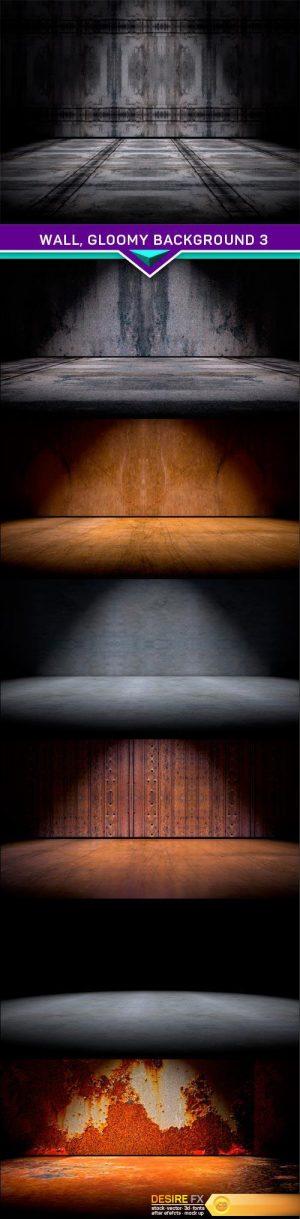Wall, gloomy background 3 7x JPEG