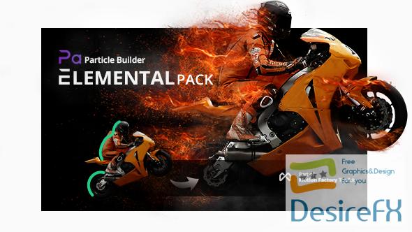 Desirefx com | Download Particle Builder | Elemental Gear