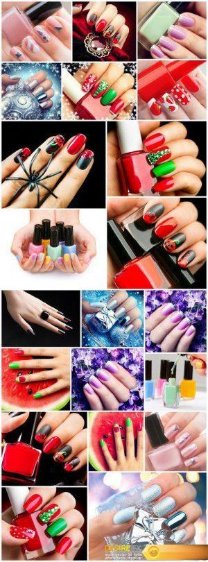 The idea of fashion manicure #2 21X JPEG