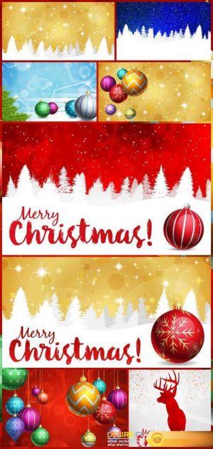 Christmas balls are 8X JPEG