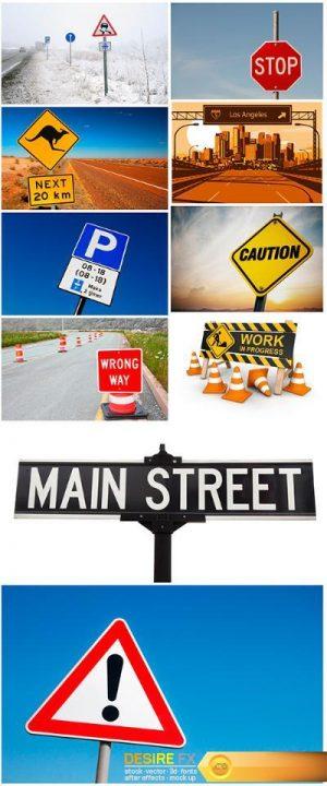 Road sign – 10UHQ JPEG