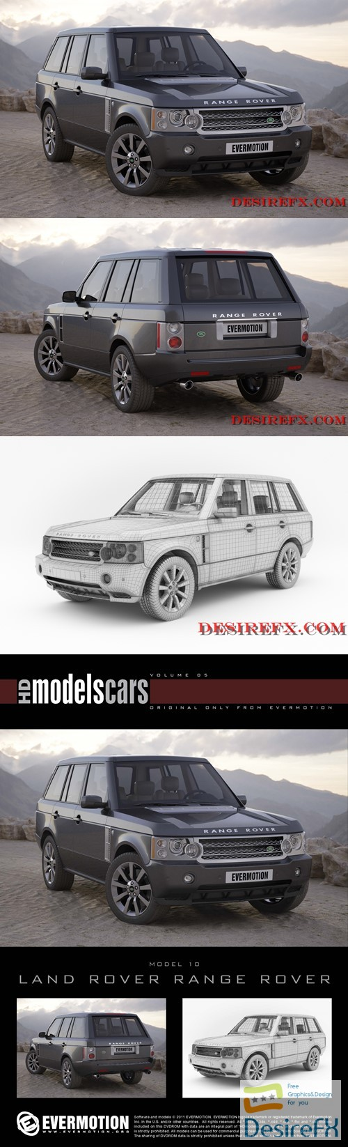 Land Rover Range Rover EVERMOTION 3D Model