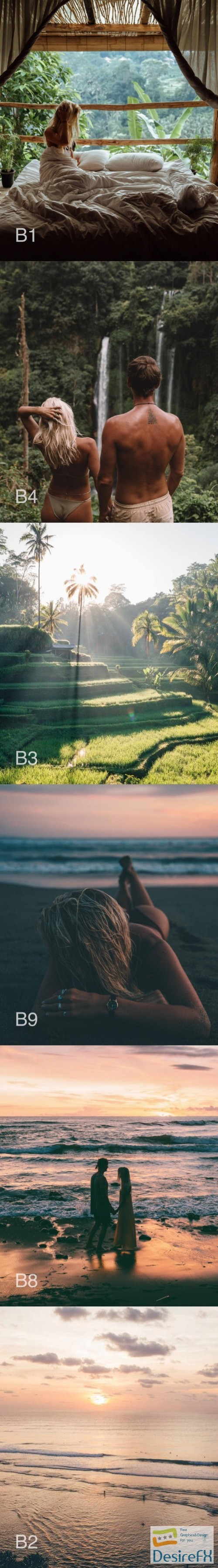 DOYOUTRAVEL X GYPSEALUST Presets - Bali Collection