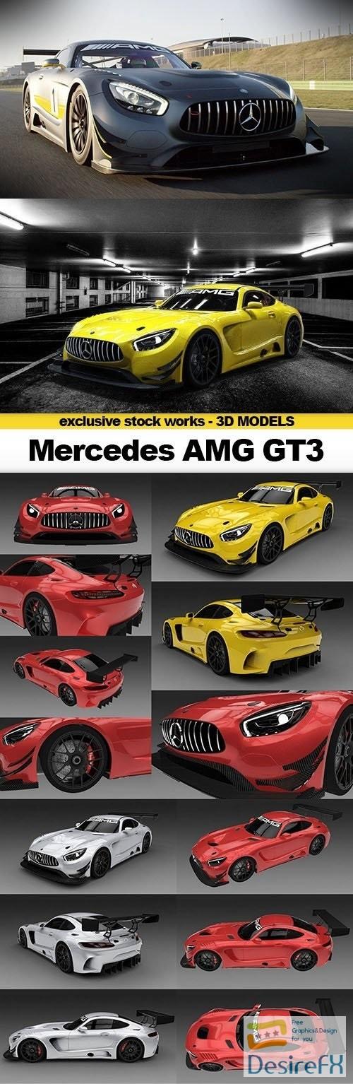 CGTrader 3D MODELS - 2016 Mercedes AMG GT3