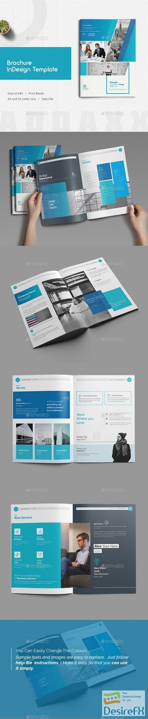 brochure template indesign free download - download free graphicriver brochure