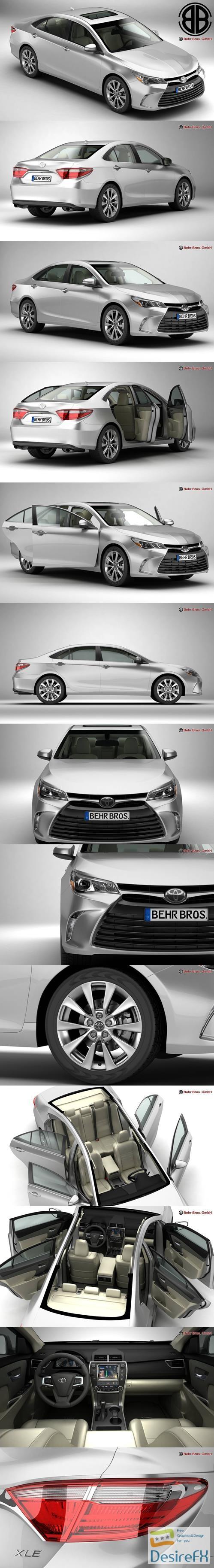 3d-models - Toyota Camry 2015 3D Model