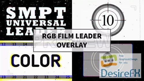MA - RGB Film Leader Overlay 64034
