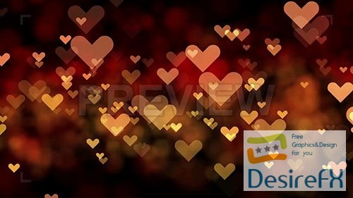 stock-video-footages - MA - Valentines Day Background Looped 64089