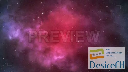 stock-video-footages - MA - Pink And Purple Space Background 64136