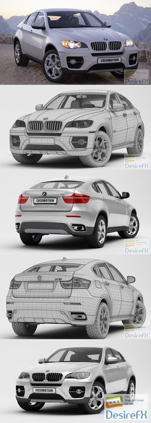 Evermotion 3D Model BMW X6