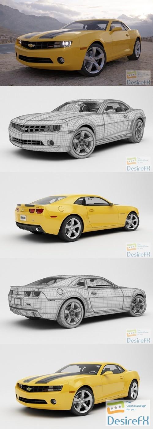 Evermotion Chevrolet Camaro 3D Model