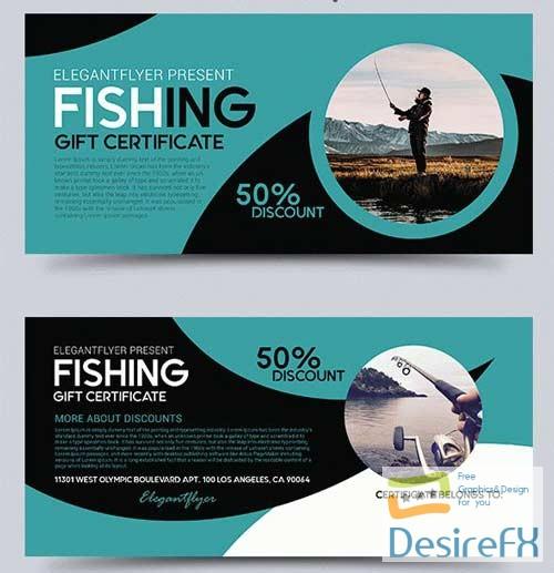 Desirefx Download Free Fishing V1 2018 Gift Certificate Psd