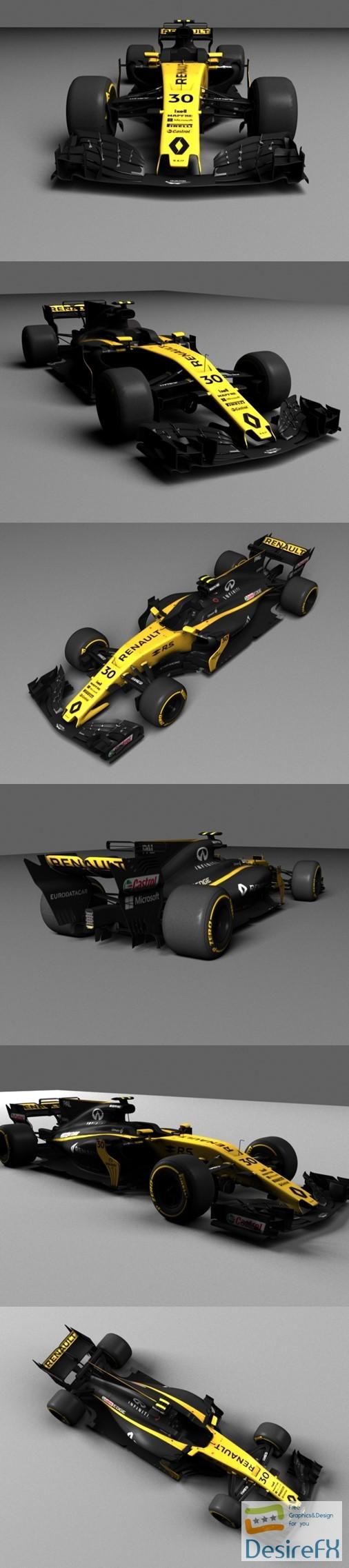 3d-models - Renault RS 17 3D Model