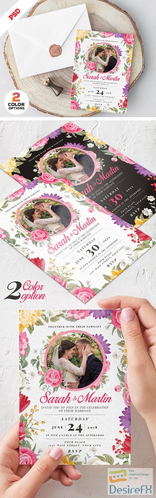 Desirefx Com Download Wedding Invitation Card Design Psd