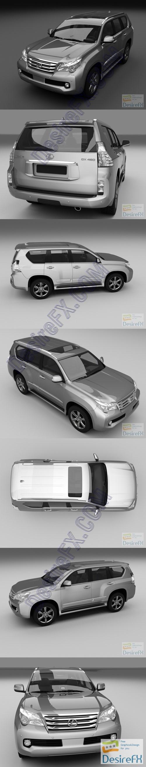 3d-models - Lexus GX460 3D Model