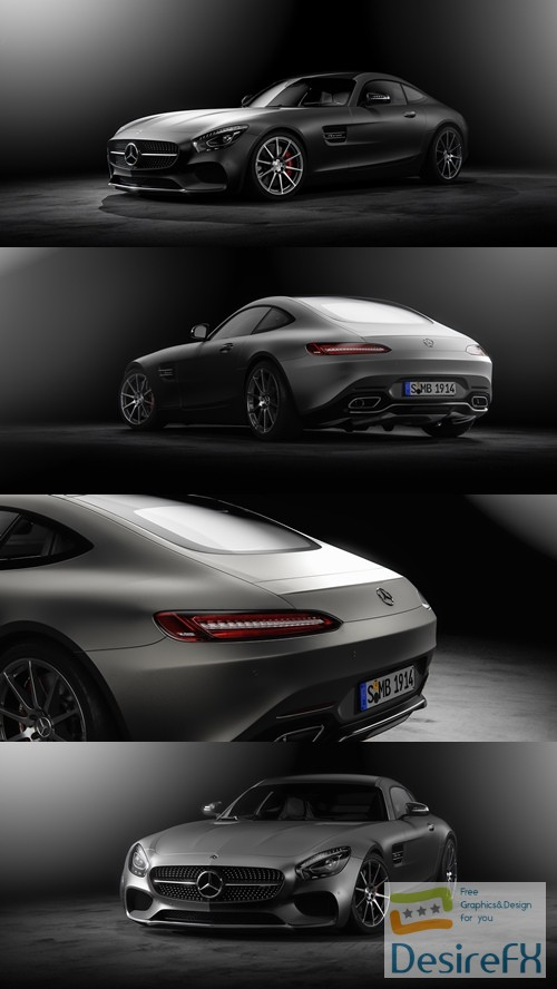 3d-models - Mercedes Benz AMG GT 2016 3D Model