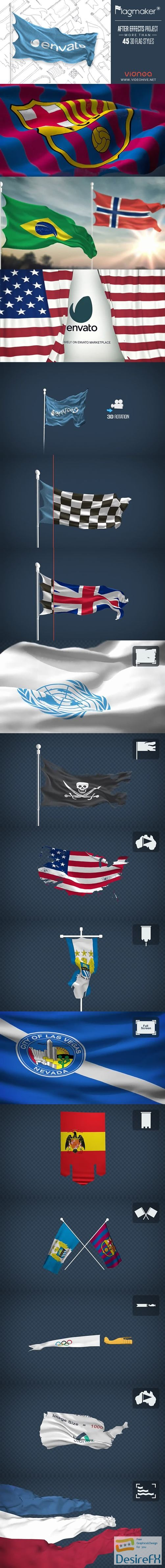 Videohive 3D Flag Maker 16902060