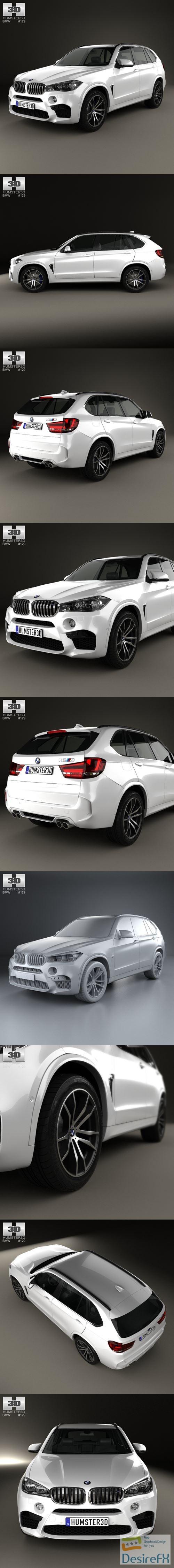 BMW X5 M (F15) 2016 3D Model