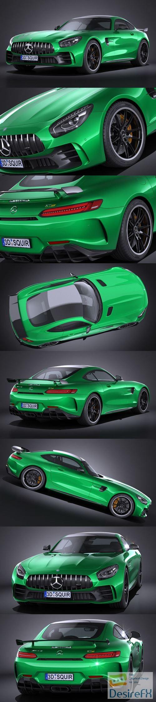 3d-models - Mercedes AMG GT R 2017 3D Model