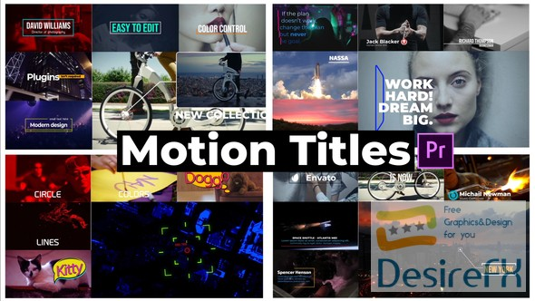 Videohive - Motion Titles - 21671665 (Last Update 3 April 18)