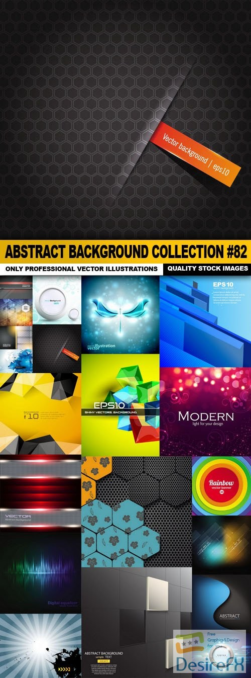 stock-vectors - Abstract Background Collection #82 - 20 Vector